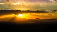 Sunset over Avra Valley from Gates Pass