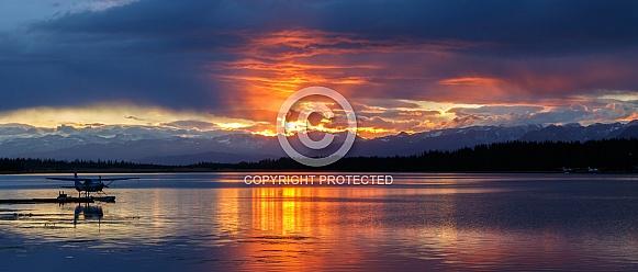Sunrize Beluga lake