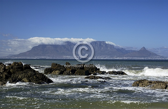 Table Mountain and Cape Town - South Africa