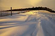 Winter snow - North Yorkshire - England