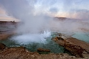 El Tatio geysers - Andes Mountains - Chile