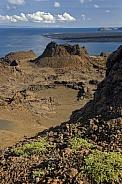 Volcanic landscape - Galapagos Islands - Ecuador