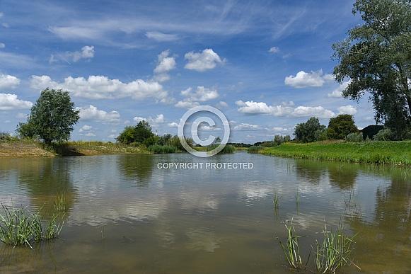 Netherlands, water landscape