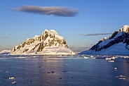Lamaire Channel in Antarctica