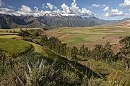 Andes Mountain Range - Peru