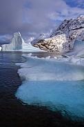 Iceberg - Scoresbysund - Greenland