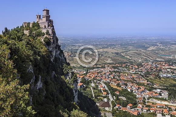 Guaita Fortress - Republic of San Marino
