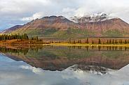 Fall Scenery along the Denali Highway, Alaska