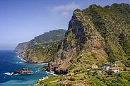Dramatic coastal scenery - Madeira