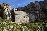 St Govans Chapel, Pembrokeshire, Wales