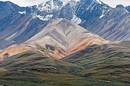 Mountains at Denali National Park