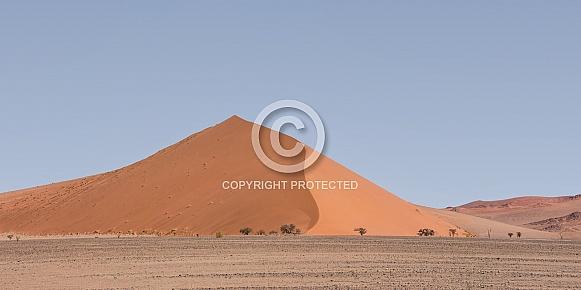 Namibian Desert Landscape