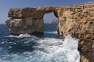 Azure Window Natural Arch - Malta