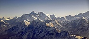 Mount Everest and the Himalayan Mountain Range