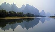 Karst Mountains and the Li River - China