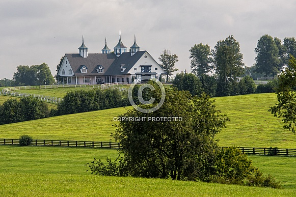 Kentucky Horse Farm Barn