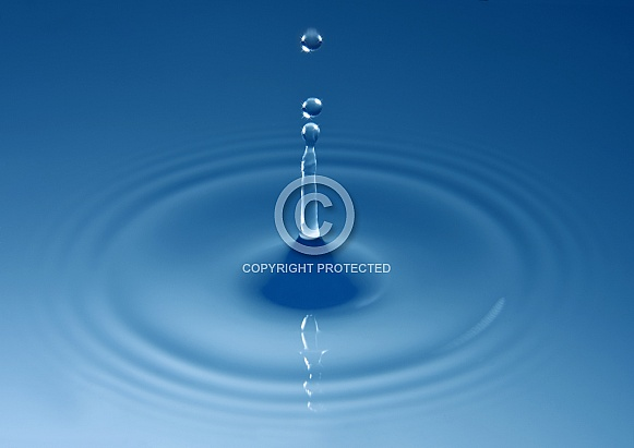 Pure Water - Water Droplet