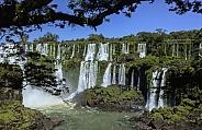 Iguazu Falls on the Argentina / Brazil border