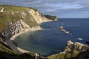 Man of War Bay - Dorset - England