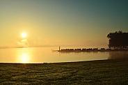 Morning at Waging Lake