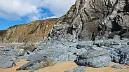 Marloes Sands Cliffs