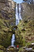 Pistyll Rhaeadr Waterfall - Powys  Wales