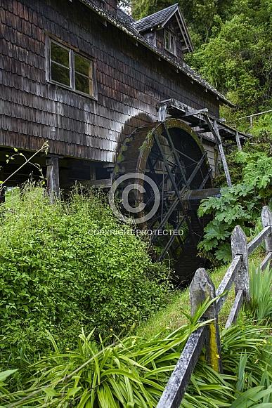 Waterwheel - Frutillar - Chile
