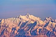 Mountain View. Alps