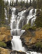 Stanley Falls - Jasper National Park - Canada