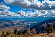 Jackson Hole Valley from Rendezvous Peak