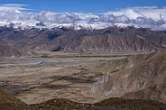 Himalayan Mountains - Tibetan Plateau - Tibet