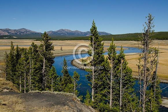 Hayden Valley in Yellowstone