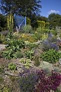 Flowers in a garden - England