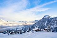 Wintertime in Switzerland