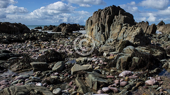 Marloes Sands - Rocky Shoreline