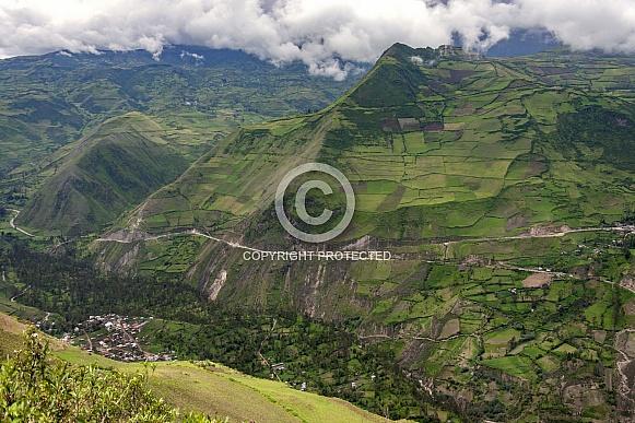 Countryside near Riobamba - Ecuador