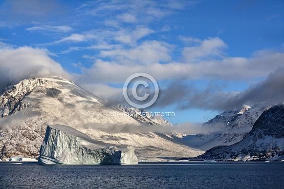 Scoresbysund in eastern Greenland
