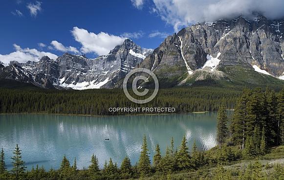 Waterfowl Lake - Banff National Park - Alberta - Canada