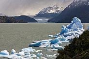 Largo Grey - Torres del Paine - Patagonia - Chile