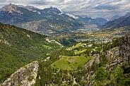 French Alps near Guillstre