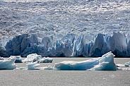 Grey Glacier - Torres del Paine - Patagonia - Chile