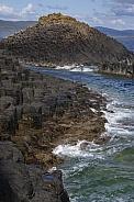 Basalt rock formation - Staffa - Scotland
